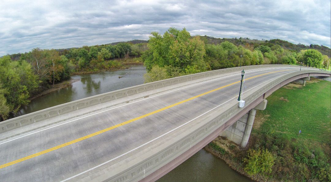 KY 22 Over Licking River | Pendleton County, Kentucky